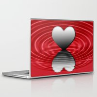 valentine Laptop & iPad Skins featuring Valentine by Kathleen Stephens