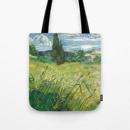 """Vincent van Gogh """"Green field"""" Tote Bag"""