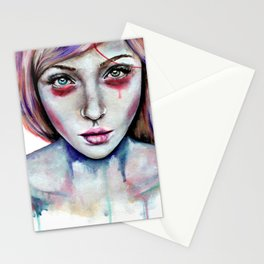 Seeing You Heterochromia Stationery Cards
