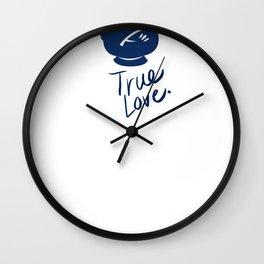 Rumbelle- True Love Wall Clock