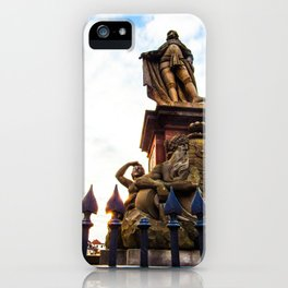 Sunset on History iPhone Case
