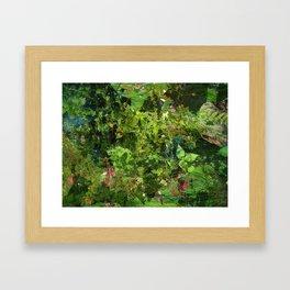 Ground Framed Art Print