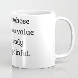 Gloria Steinem Feminist Quotes - Being misunderstood Coffee Mug
