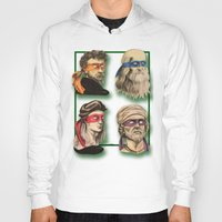 renaissance Hoodies featuring Renaissance Mutant Ninja Artists by Rachel M. Loose