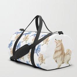 Samoyed Duffle Bag