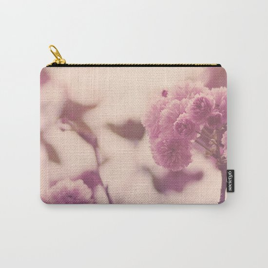 Summer Botanical Carry-All Pouch
