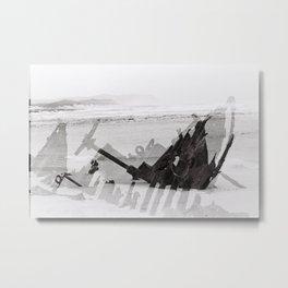 Cape Point ship wreck Metal Print