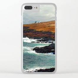Lighthouse in Newfoundland Clear iPhone Case