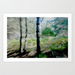 trees2... Art Print