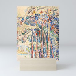 """Paul Signac """"Antibes, le fort depuis Juan-les-Pins"""" Mini Art Print"""