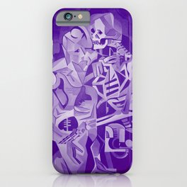 Halloween Skeleton Welcoming The Undead iPhone Case