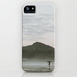 Dusk in Tofino iPhone Case