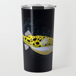 Green Spotted Puffer Travel Mug