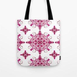 Rosy mandala glam Tote Bag