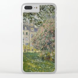 Landscape: The Parc Monceau Clear iPhone Case