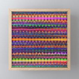 Sounds of Colourful Birds Framed Mini Art Print
