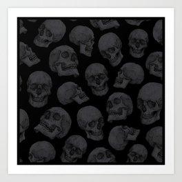 Skulls Kunstdrucke