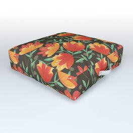 Afternoon Blossoms Outdoor Floor Cushion