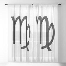 Virgo Sheer Curtain