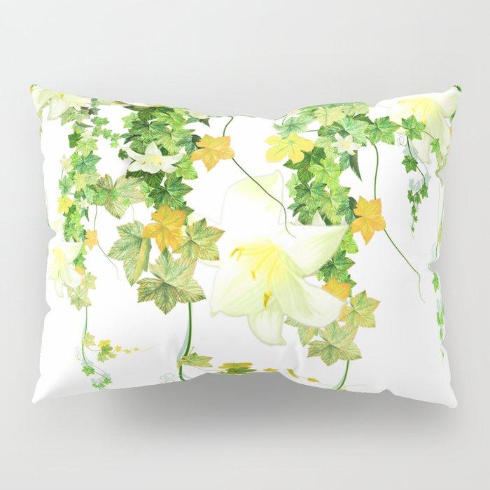 Watercolor Ivy Pillow Sham