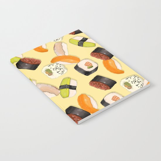 Sushi Party Notebook