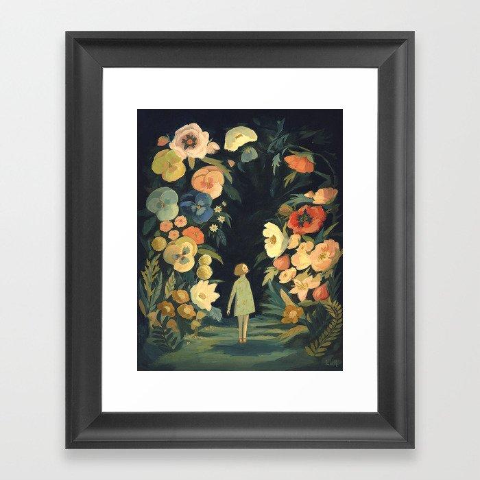 The Night Garden Gerahmter Kunstdruck
