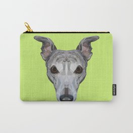 Whippet // Green Carry-All Pouch
