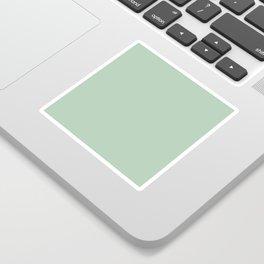 Simply Pastel Cactus Green Sticker