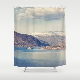 Sognefjord II Shower Curtain