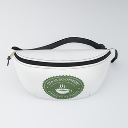 Tea Quote Fanny Pack