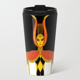 "Art Deco Design ""Broadway In Fashion"" by Erté Travel Mug"