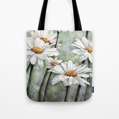 Karen's Daisies Tote Bag