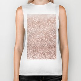 Sparkling Rose Gold Blush Glitter #2 #shiny #decor #art #society6 Biker Tank