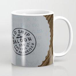 Old Ship Saloon Coffee Mug