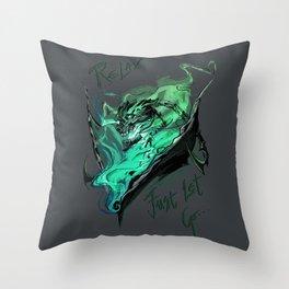 League of Legends- Thresh fanart Throw Pillow