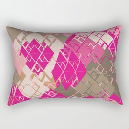 Neopolitan Diamonds Rectangular Pillow