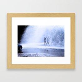 RAIN DANCE Framed Art Print