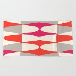 Zaha Type Beach Towel