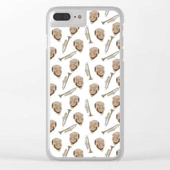 Wonderful Louis Clear iPhone Case