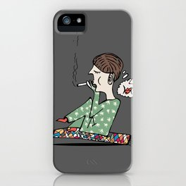 boy smoke and dreams about her lips iPhone Case