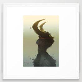 Baal Framed Art Print