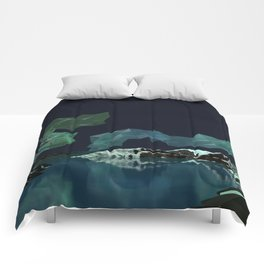 Aurora Borealis Comforters
