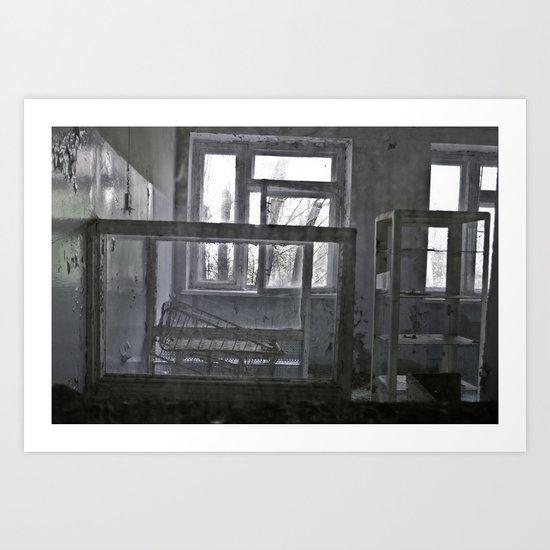 Chernobyl - дитячого відділення Art Print