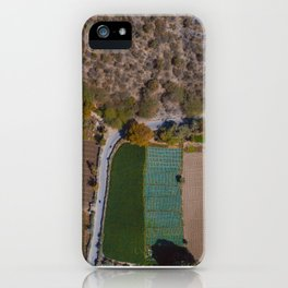 Udaipur Fields 2 iPhone Case