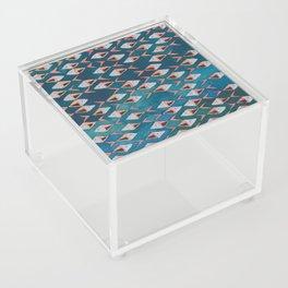 School of Fish Pattern Acrylic Box