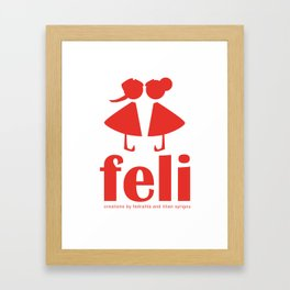 feli Framed Art Print
