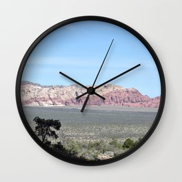 View From Ice Box Canyon Wall Clock