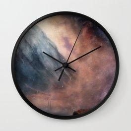 Loch Achtriochtan - (Damaged Universe edit) Wall Clock