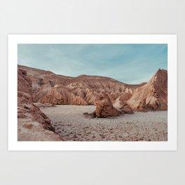 The Moon Valley. Chile. Atacama Art Print