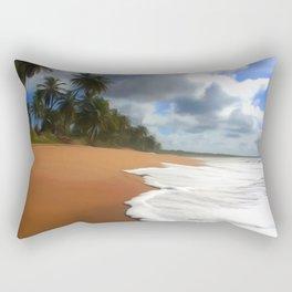 Wave Art One Rectangular Pillow